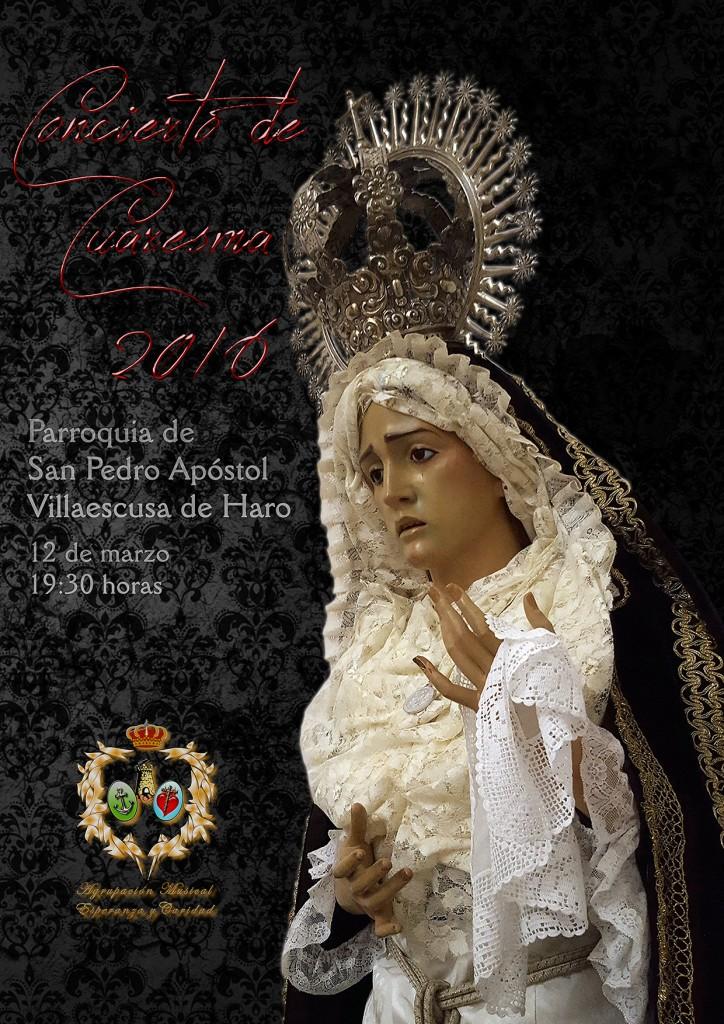 Cartel Concierto de Semana Santa